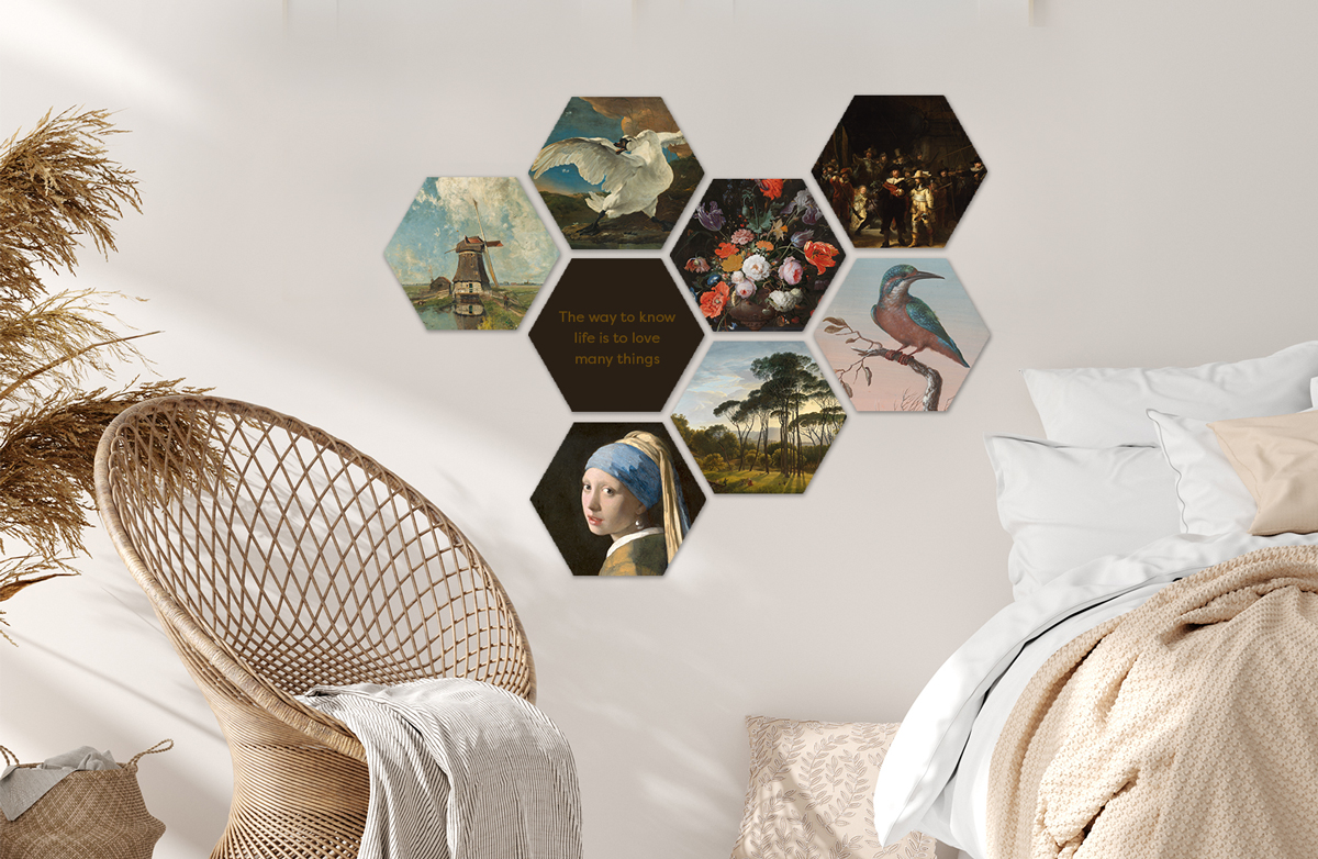 Hexagons ontwerpen